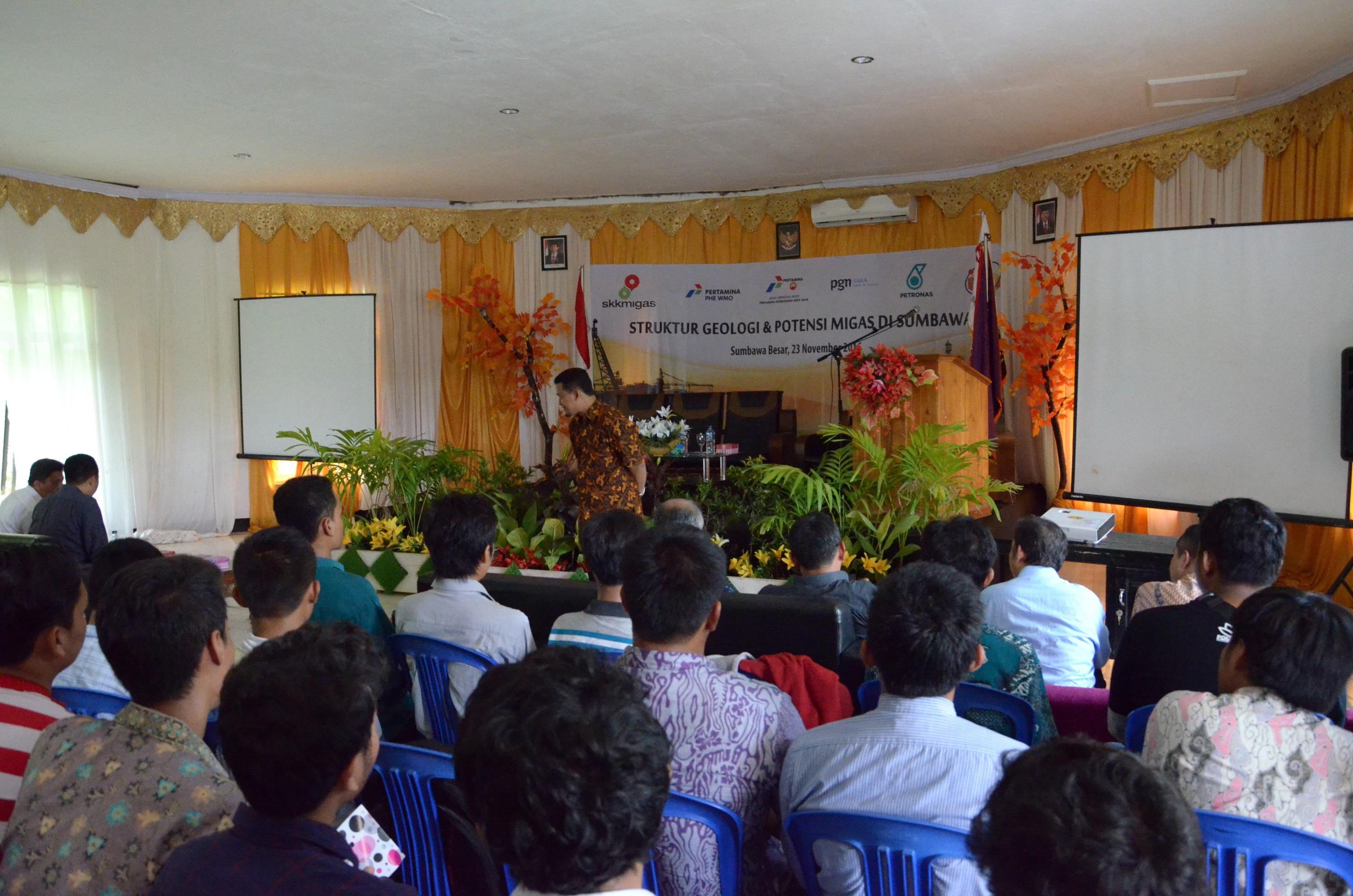SKK Migas-Jabanusa gelar Kuliah Umum Berkualitas di UTS
