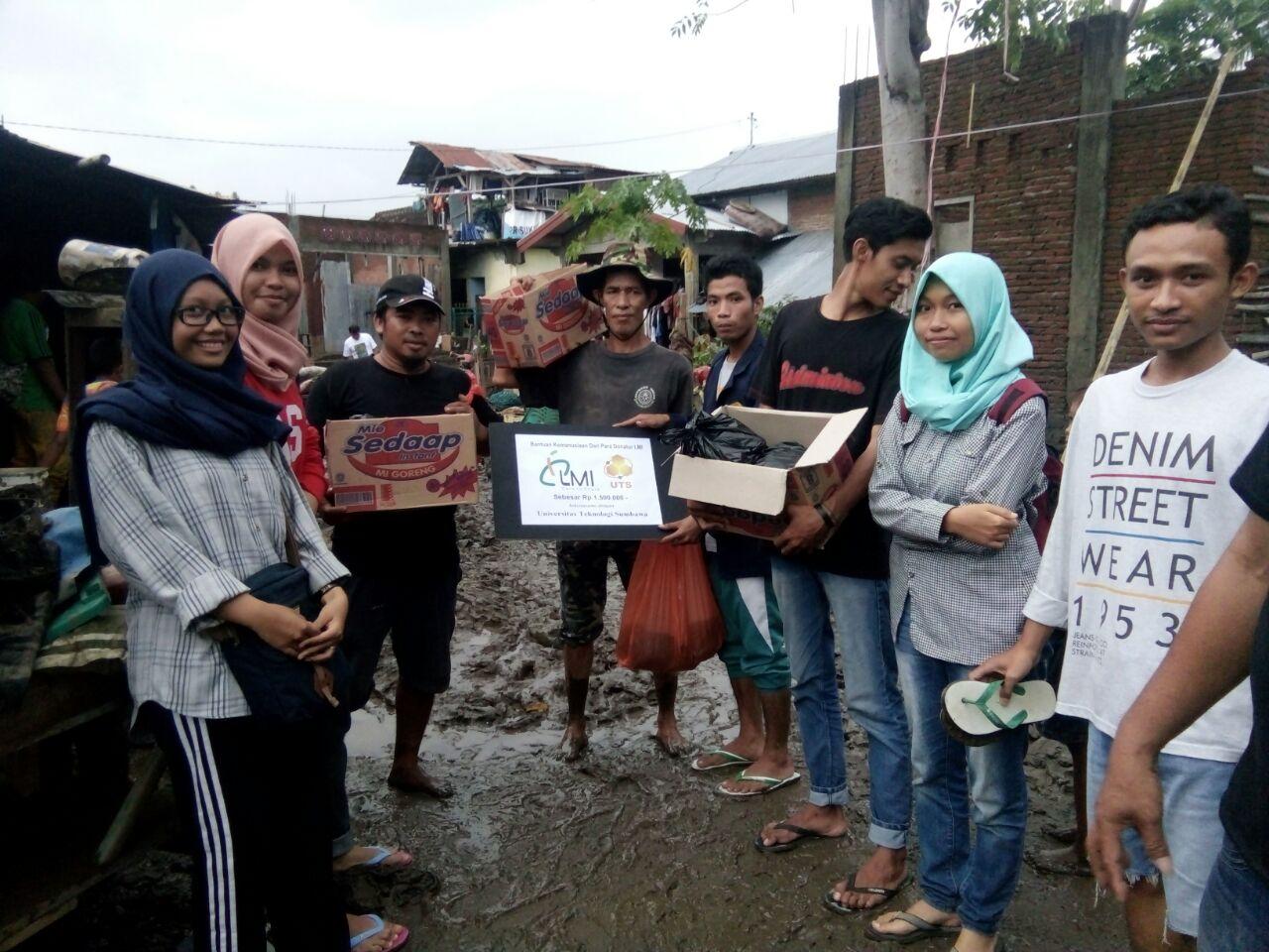 Laporan Penerimaan dan Pendistribusian Donasi Peduli Banjir Sumbawa