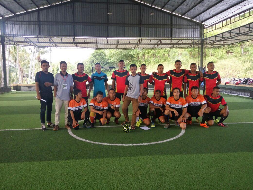 UTS Futsal League: Brimob vs NSS SOLIDARITAS TANPA BATAS